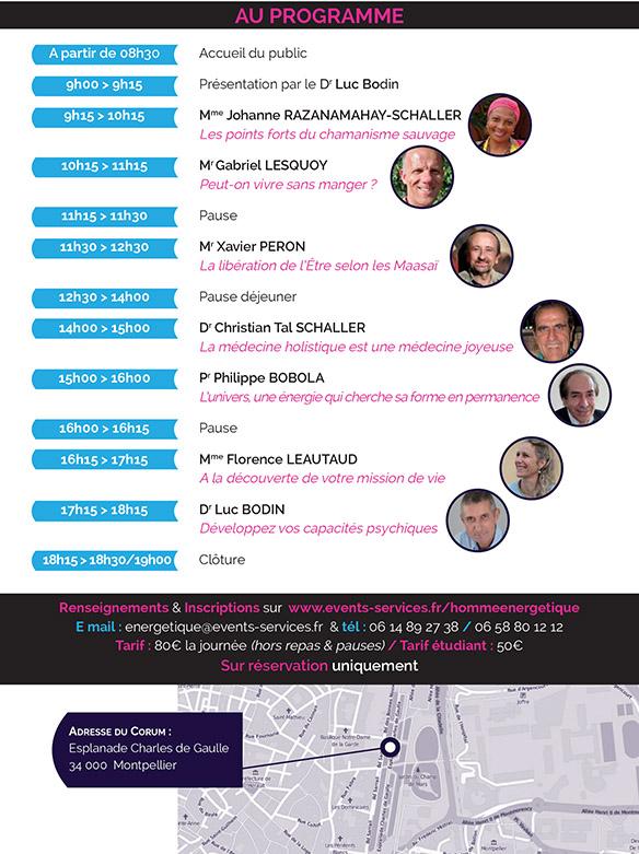 symposium homme energetique programmation