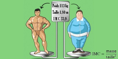 des différences importantes de physionomie pour un même poids