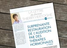Surprenante restauration de l'audition par des thérapies hormonales