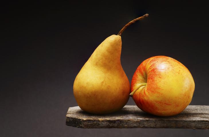 Silhouette : pomme ou poire ?